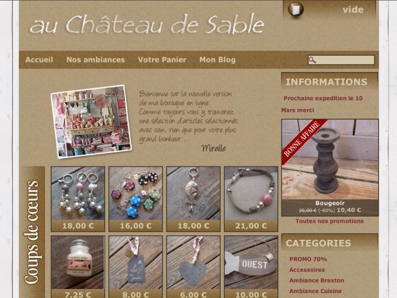 Au Château de Sable