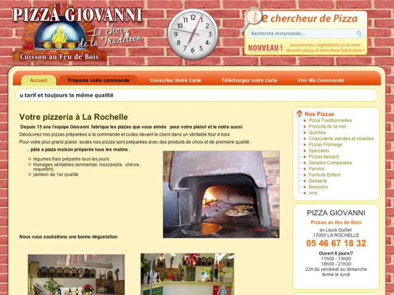 Pizza Giovanni La Rochelle